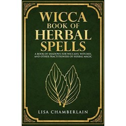 Book Wicca book of Herbal Spells Lisa Chamberlain