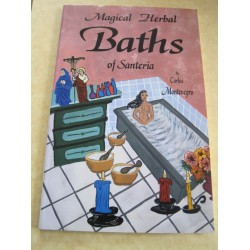Book Magical Baths Of Santeria Carlos Montenegro