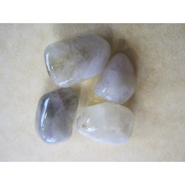 Crystal Tumble Praisolite Quartz Green