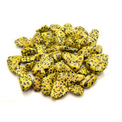 Tumble Jasper Dalmation Yellow