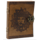 Book Leather Book Of Shadows Greenman design