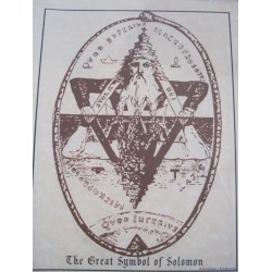 Poster Great Symbol Of Solomon