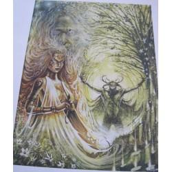 Green Goddess Print