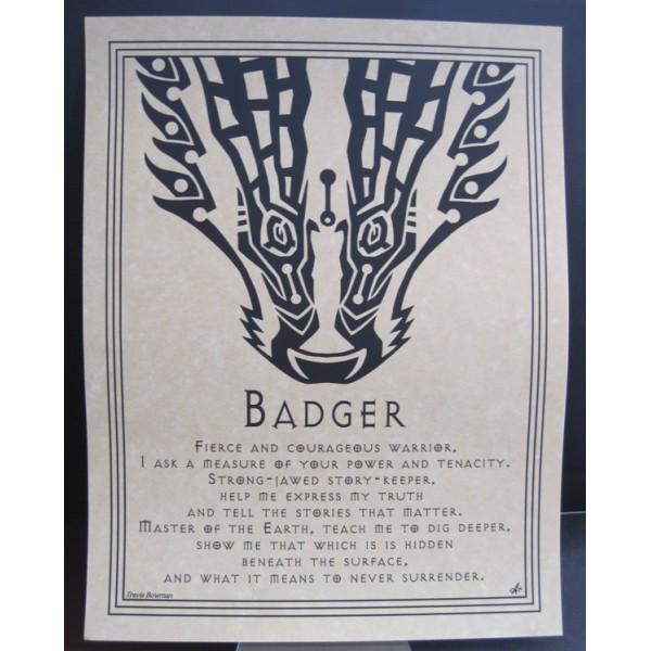 Poster Badger