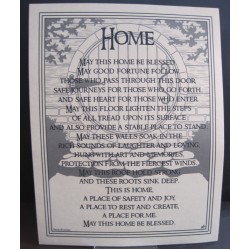 Poster Home Blessing