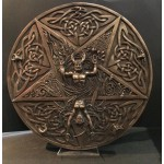 Horned God And Goddess Wall Plaque