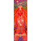 Fabric Wall/Door Hanging Love Goddess