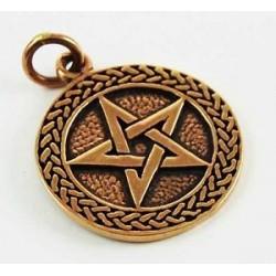 Bronze Pentagram Pendant