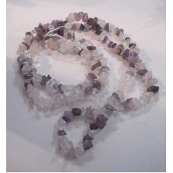 Necklace - Rose Quartz, Clear Quartz, Amethyst