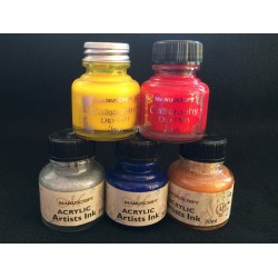 Acrylic Artists Ink Red