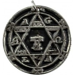 Amulet Hexagram Of Solomon