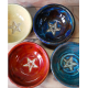 Offering Bowl Blue with pentacle