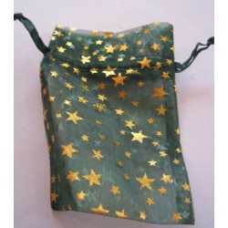 Green Star/Moon Pouch