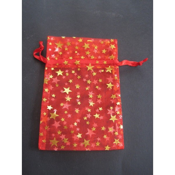 Red Star/Moon Pouch